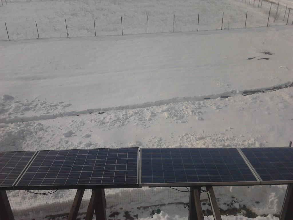 4 panouri fotovoltaice a cate 250w