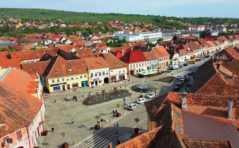 Cisnăfie_Piata_centru