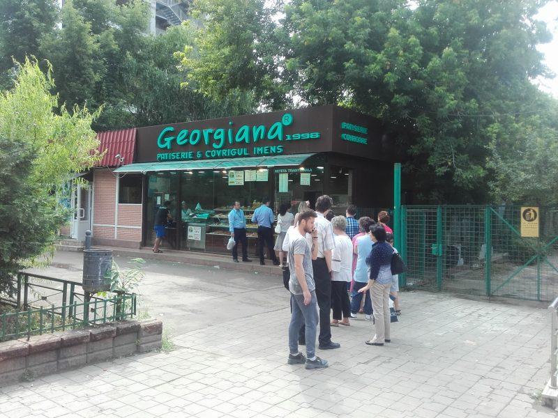 Georgiana covrigul imens