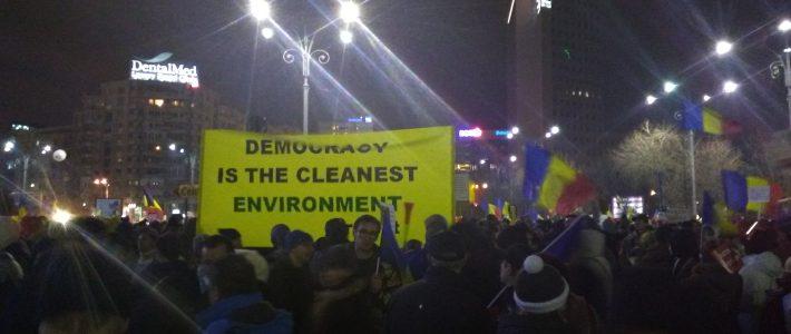 Un studiu făcut printre protestatari